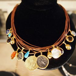 One of the boutique's best-selling necklaces.