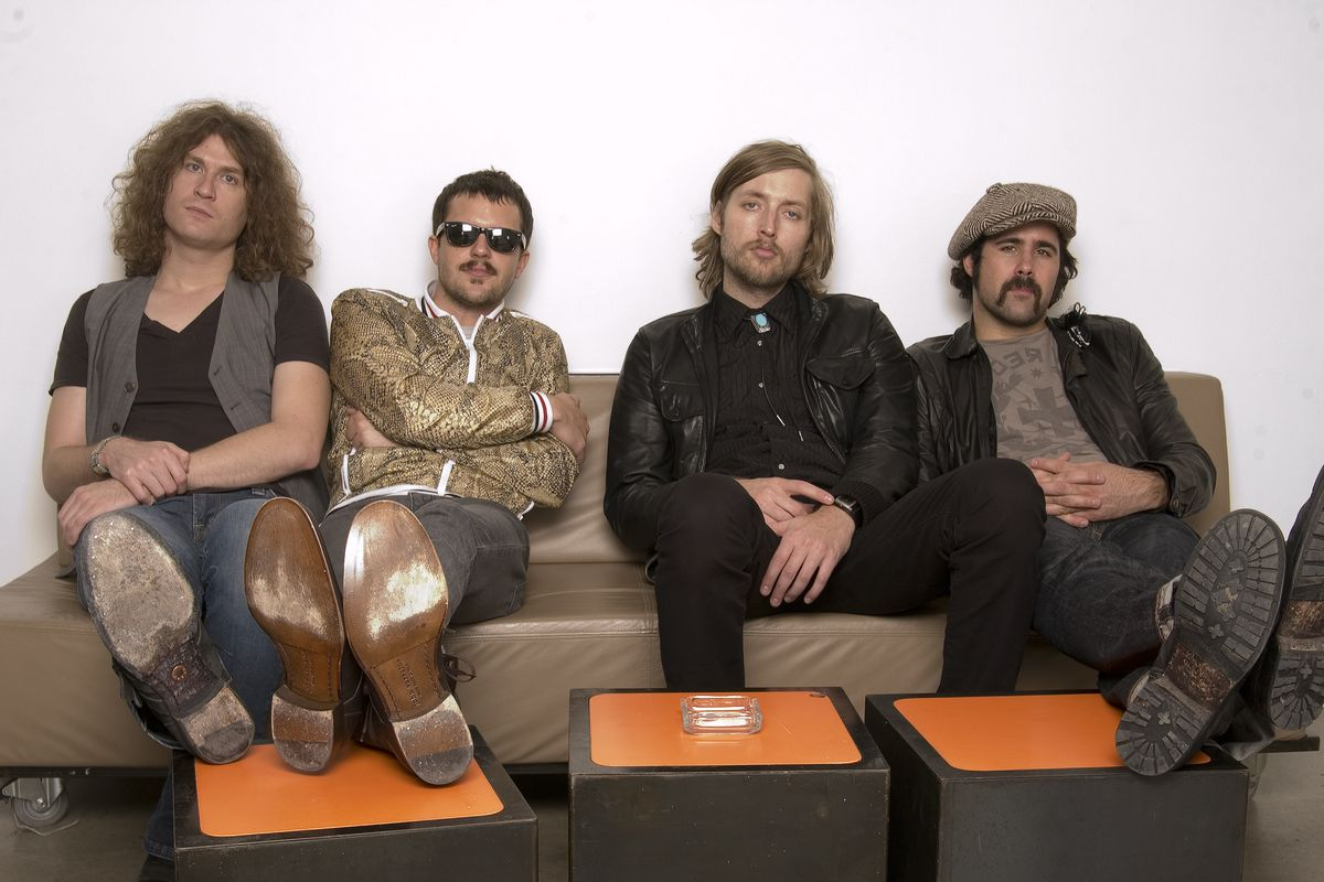 A look at The Killers, including Dave Keuning, Brandon Flowers, Mark Stoermer and Ronnie Vannucci.