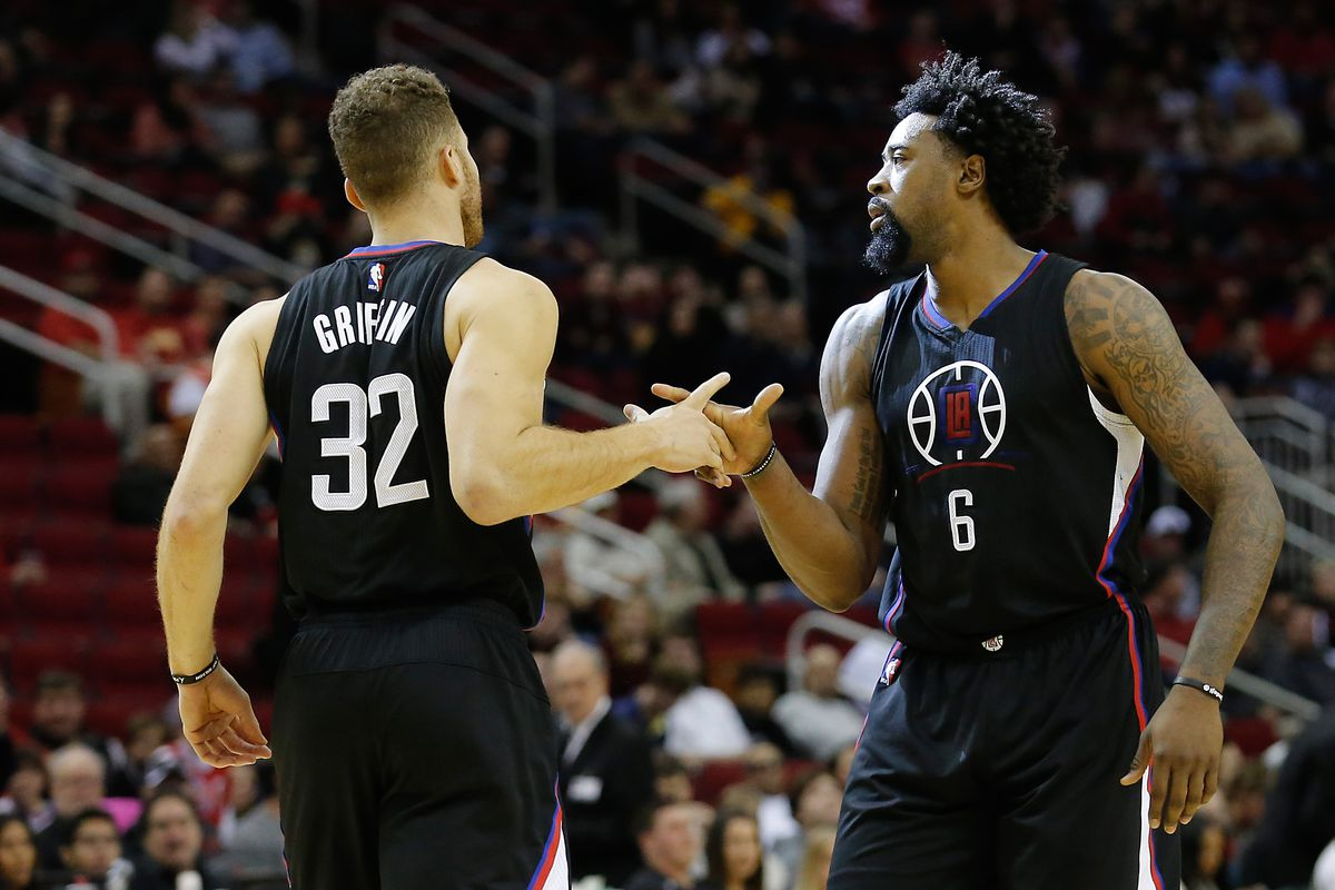 Blake and DeAndre, best buds