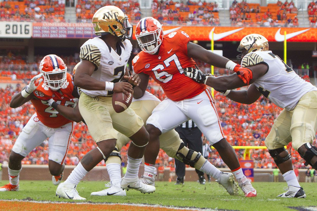 Clemson At Wake Forest Kickoff Still Up In The Air Blogger