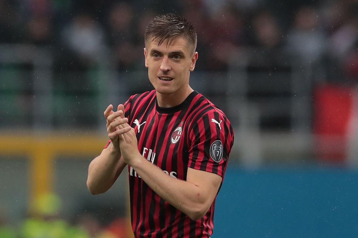 Penyerang AC Milan, Krzysztof Piatek
