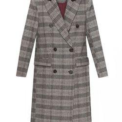 "Pixie Market Oxford plaid boyfriend coat, <a href=""http://www.pixiemarket.com/oxford-plaid-boyfriend-coat.html"">$126</a>"