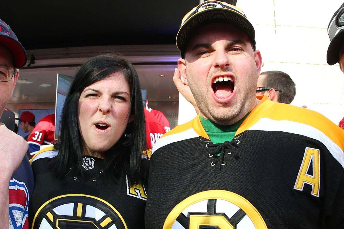 Bruins fans gonna fan...
