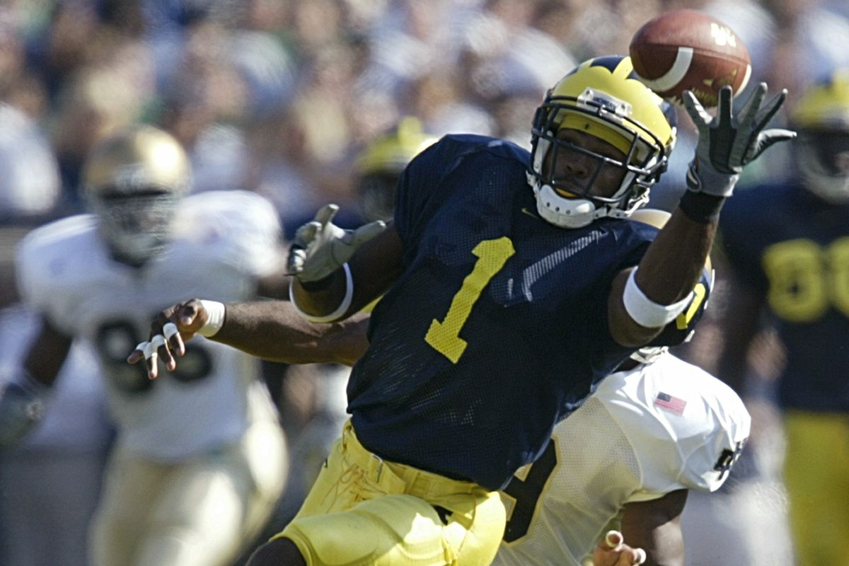 Braylon Edwards Deletes Nsfw Tweet Ripping Michigan Football Maize N Brew