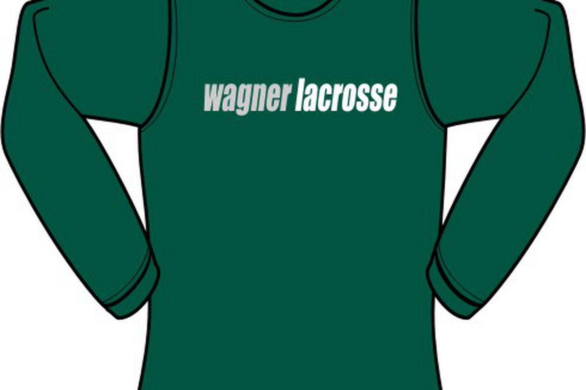 """Welcome to """"The Wagner Cup."""" via <a href=""""http://thompsonsportinggoods.net/store/images/Wagner%20Lacrosse_Forest%20LS%20T.jpg"""">thompsonsportinggoods.net</a>"""