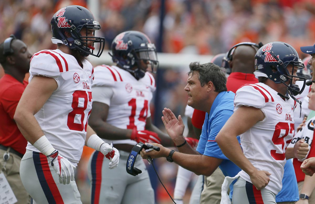 NCAA Football: Mississippi at Auburn