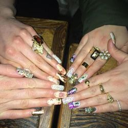 Janine and Aretha's nails, need I say more?