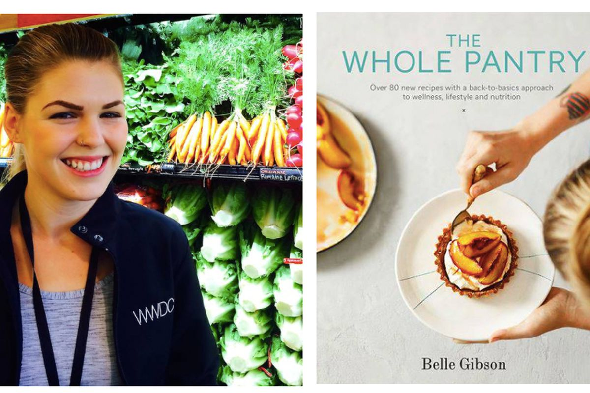 """Photos: <a href=""""http://www.bendigoadvertiser.com.au/story/2948771/the-whole-pantry-cook-book-pulled/#slide=2"""">Belle Gibson</a>"""