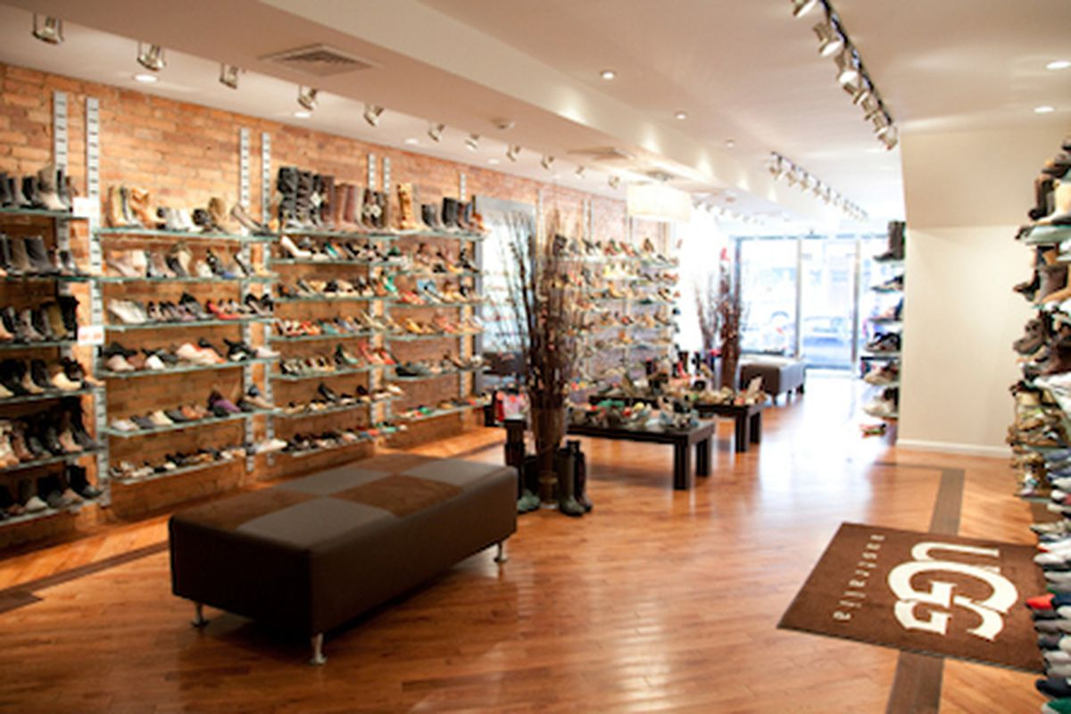 """Inside the DNA Footwear in Park Slope; Image via <a href=""""http://www.timeout.com/newyork/shopping/dna-footwear-1"""">Time Out</a>"""