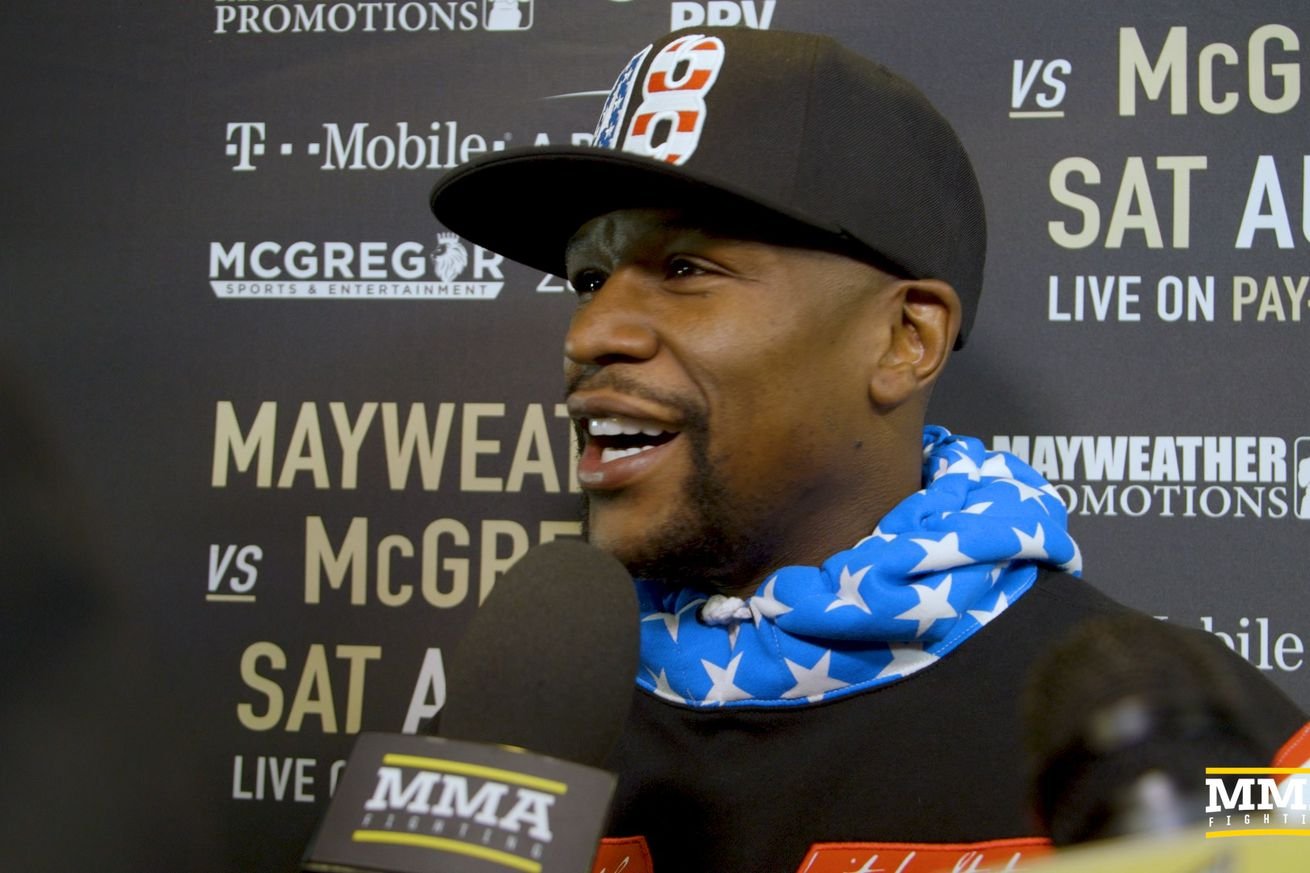 community news, Floyd Mayweather addresses tax situation, says he brought back Pretty Boy Floyd for LA presser