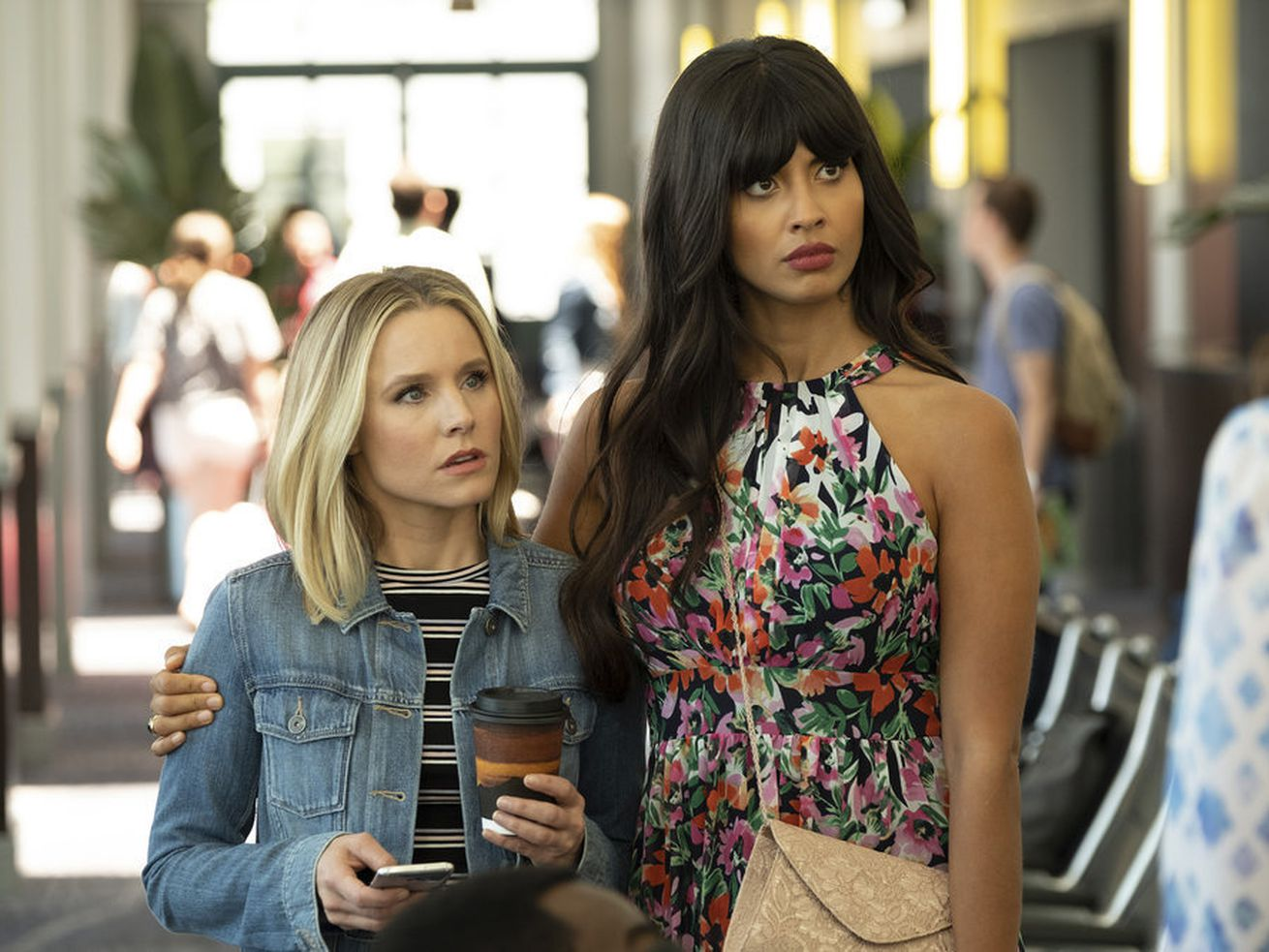 Eleanor and Tahani prepare to occupy separate storylines.