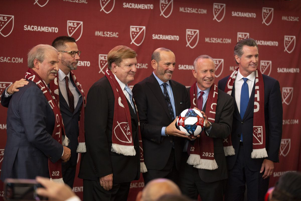 MLS: Press Event at The Bank