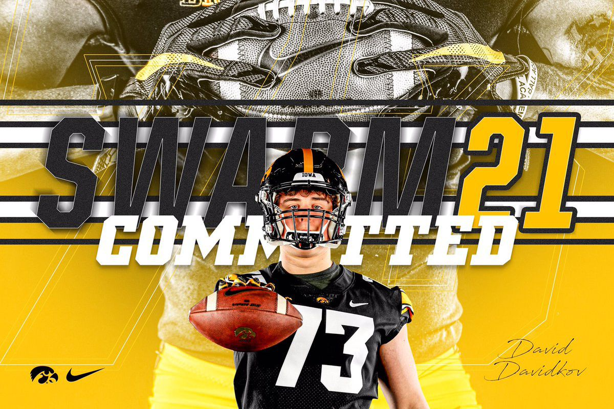 Iowa Football Recruiting Hawkeyes Land Commitment From 4 Star Ol