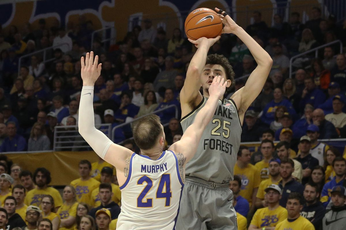 NCAA Basketball: Wake Forest at Pittsburgh