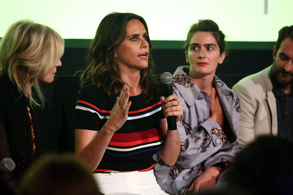 The Cast Of The Amazon Prime Series Transparent Attends A Screening Event For Members Of The Screen Actors Guild In New York