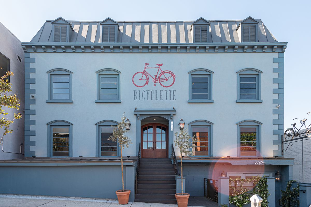 Bicyclette Bistro in West Los Angeles, California