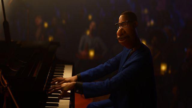 joe gardner, voiced by jamie foxx, in pixar's soul