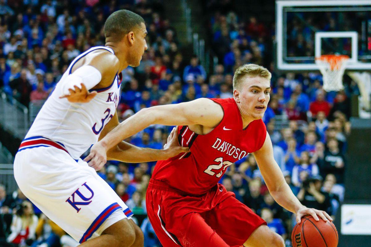 NCAA Basketball: Kansas vs Davidson