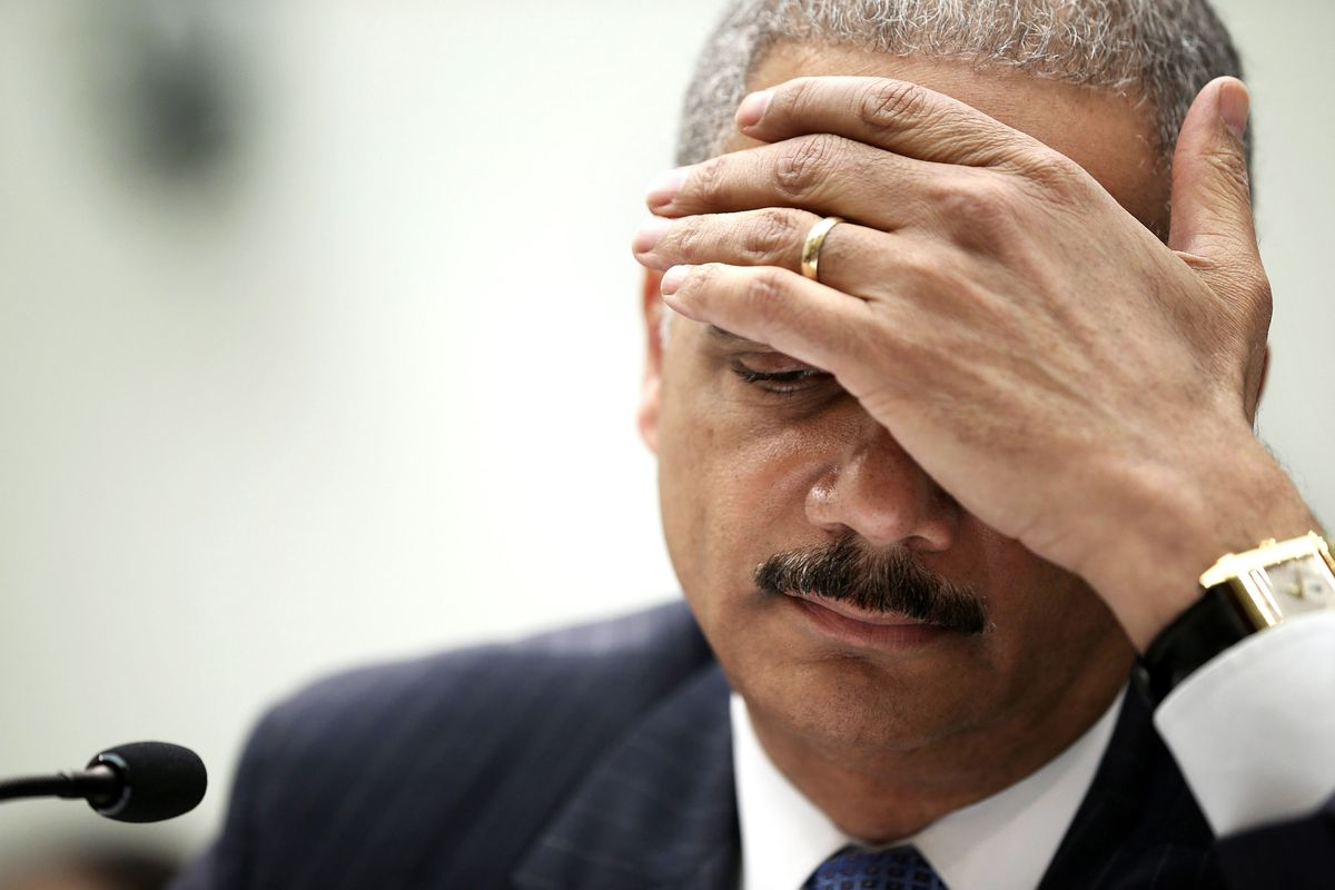 Justice Department officials say Attorney General Eric Holder is frustrated with recent leaks from the investigation into the shooting of Michael Brown.