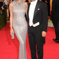 Chrissy Teigen and John Legend in Ralph Lauren