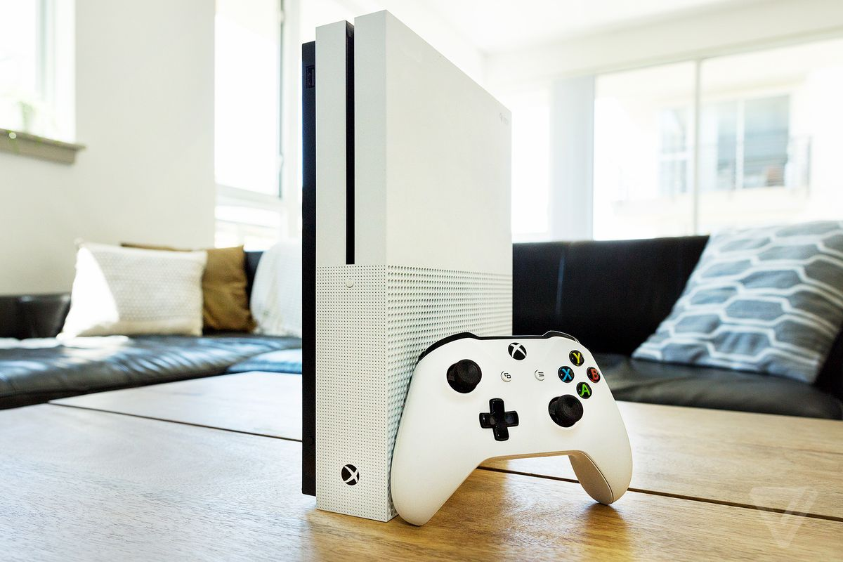 The Xbox One S with a disc drive is still much cheaper than the new