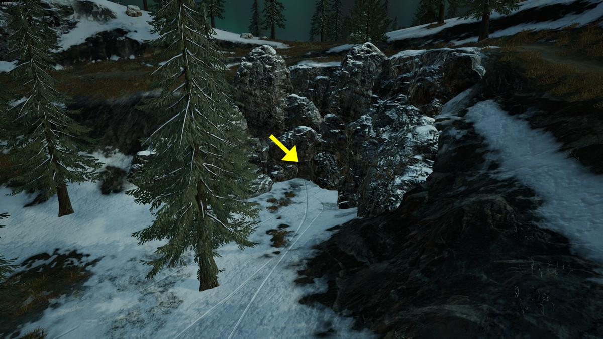 How To Find The Loot Cave In Pubg S Snow Map Polygon