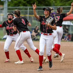 Springville and Spanish Fork faced off in the 5A quarterfinals at Spanish Fork Sports Park in Spanish Fork on Tuesday, May 25, 2021.