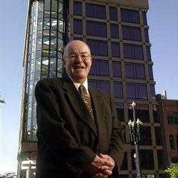Deseret News publisher Jim Mortimer.