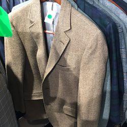 Jamieson's Shetland tweed jacket, $100