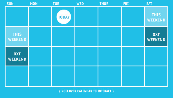 oxt calendar