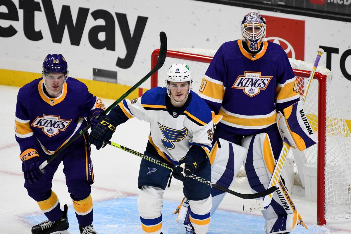 NHL: MAR 17 Blues at Kings