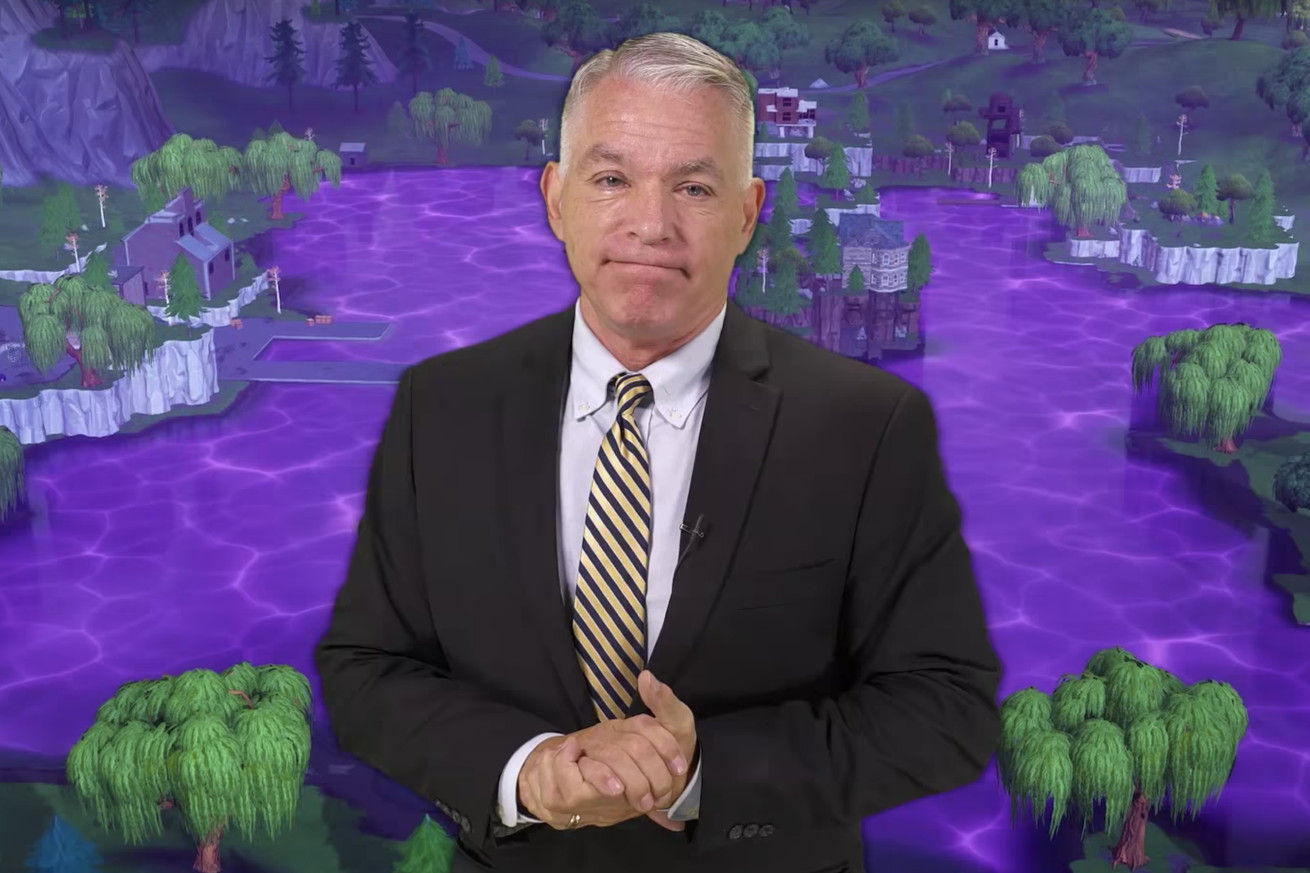 Voiceover Pete in one of Grandayy's videos.