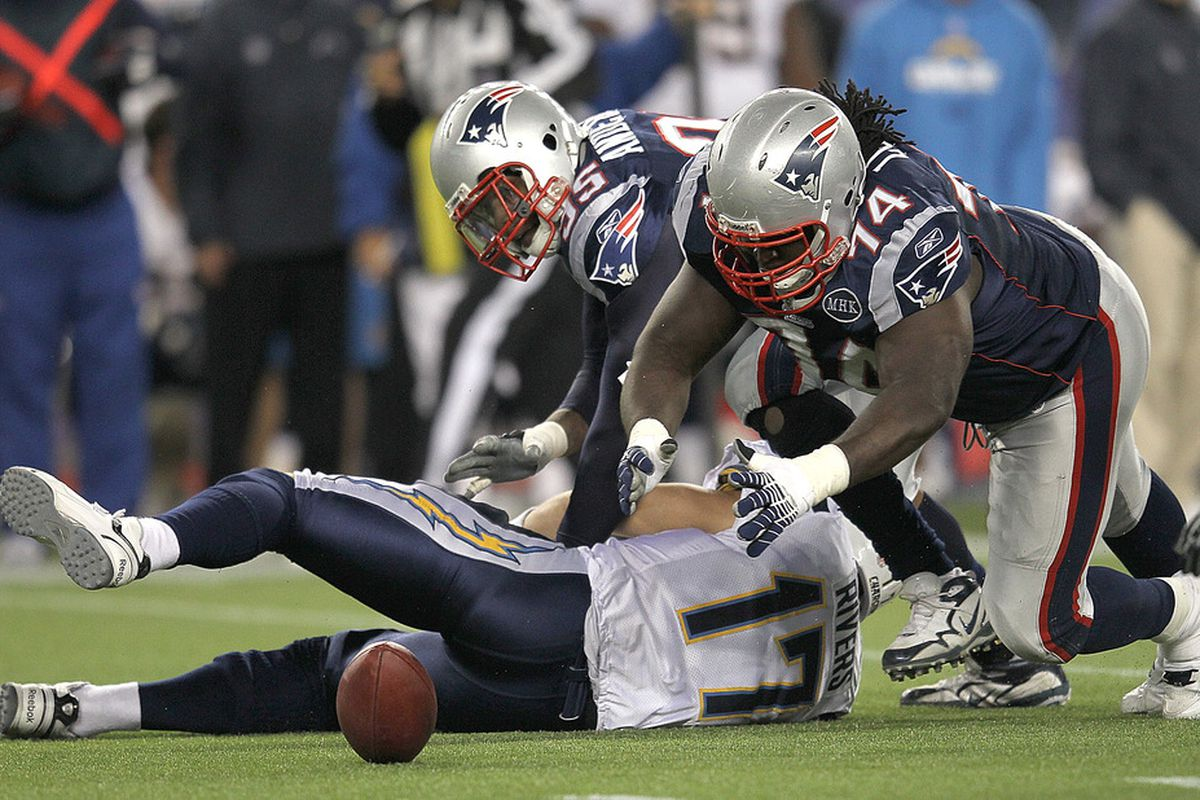 About the only time this happened on Sunday, the Patriots will need to improve their pressure on opposing QBs in the coming weeks.