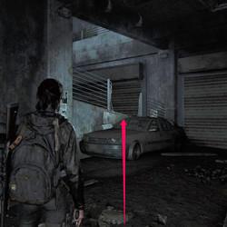 Garage Note Artifact location.