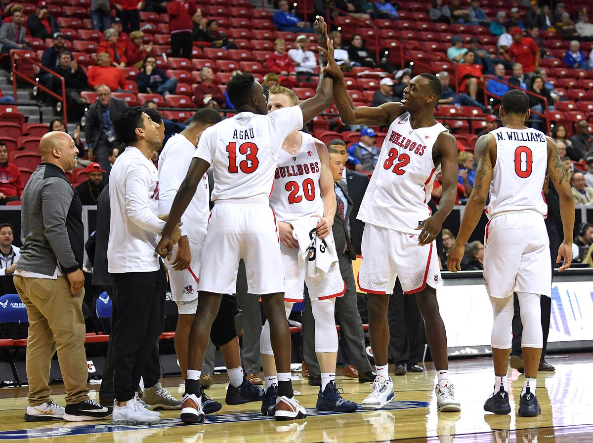 NCAA Basketball: Mountain West Conference Tournament-Fresno State vs Air Force