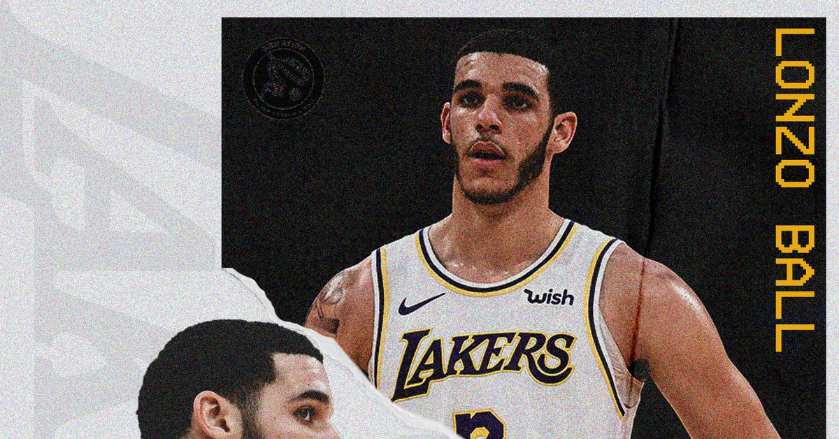 Lonzo Ball says he's struggling to fill the void left by Rajon Rondo and LeBron James