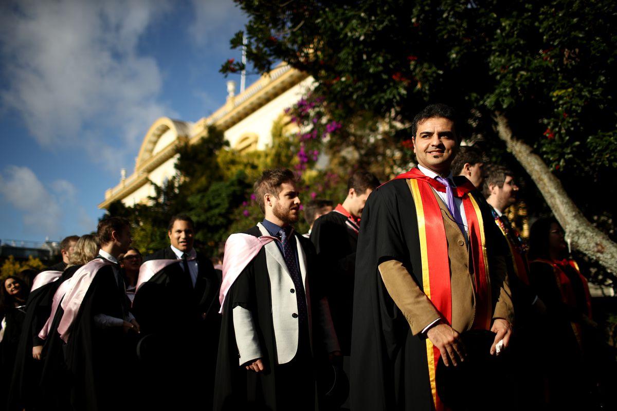 Auckland University Graduation Parade