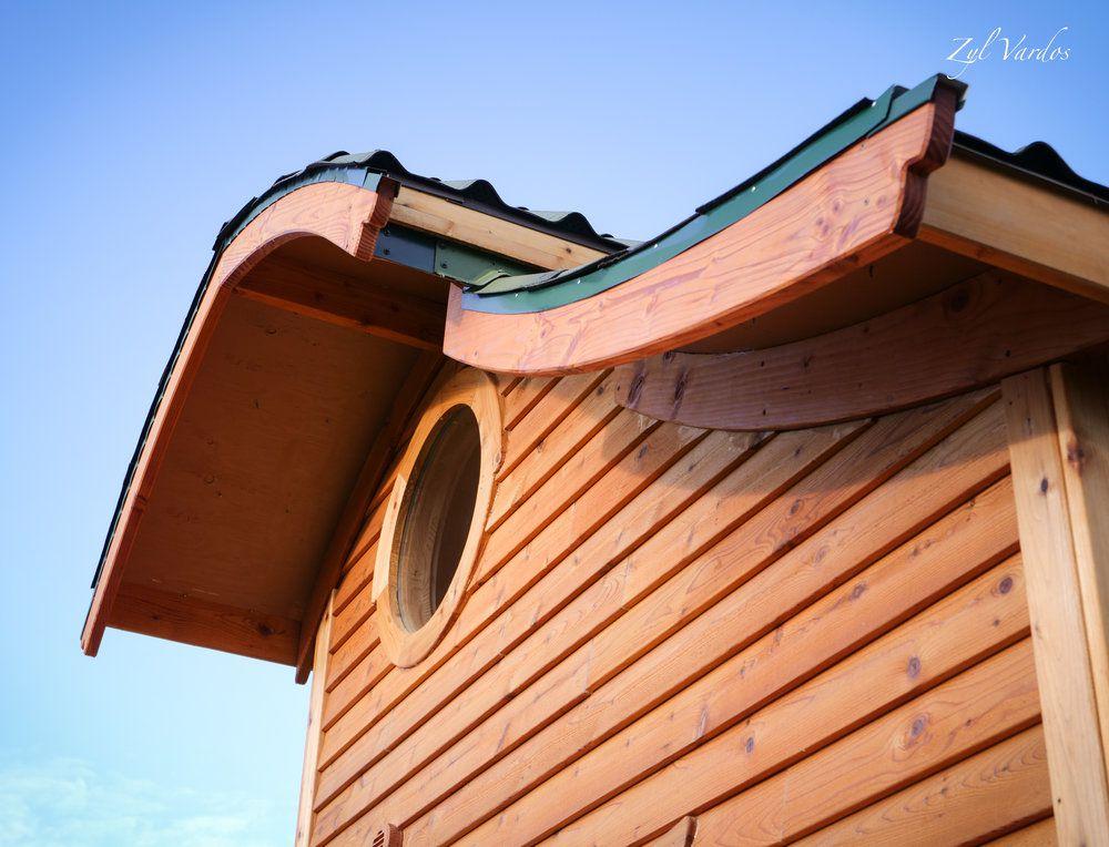 The Zyl Vardos Damselfly is a whimsical tiny house on wheels