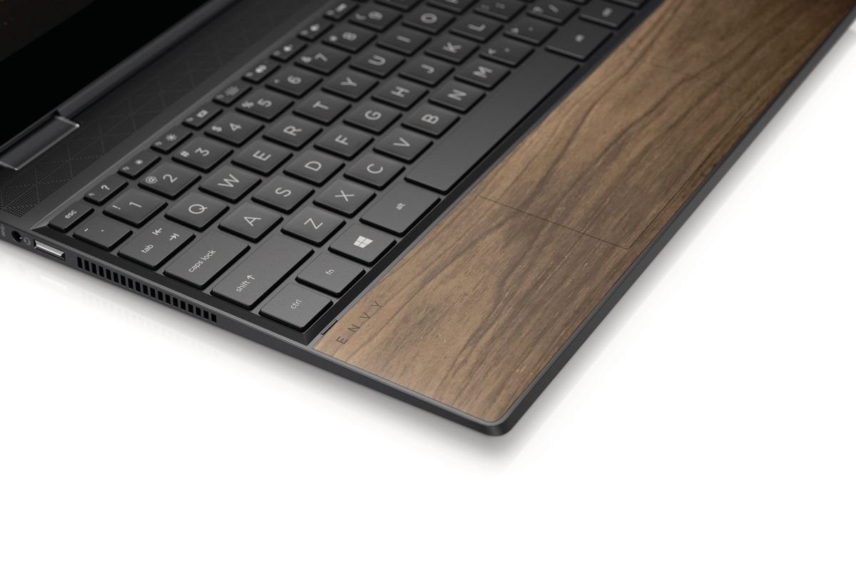 HP now makes partially wooden laptops - The Verge