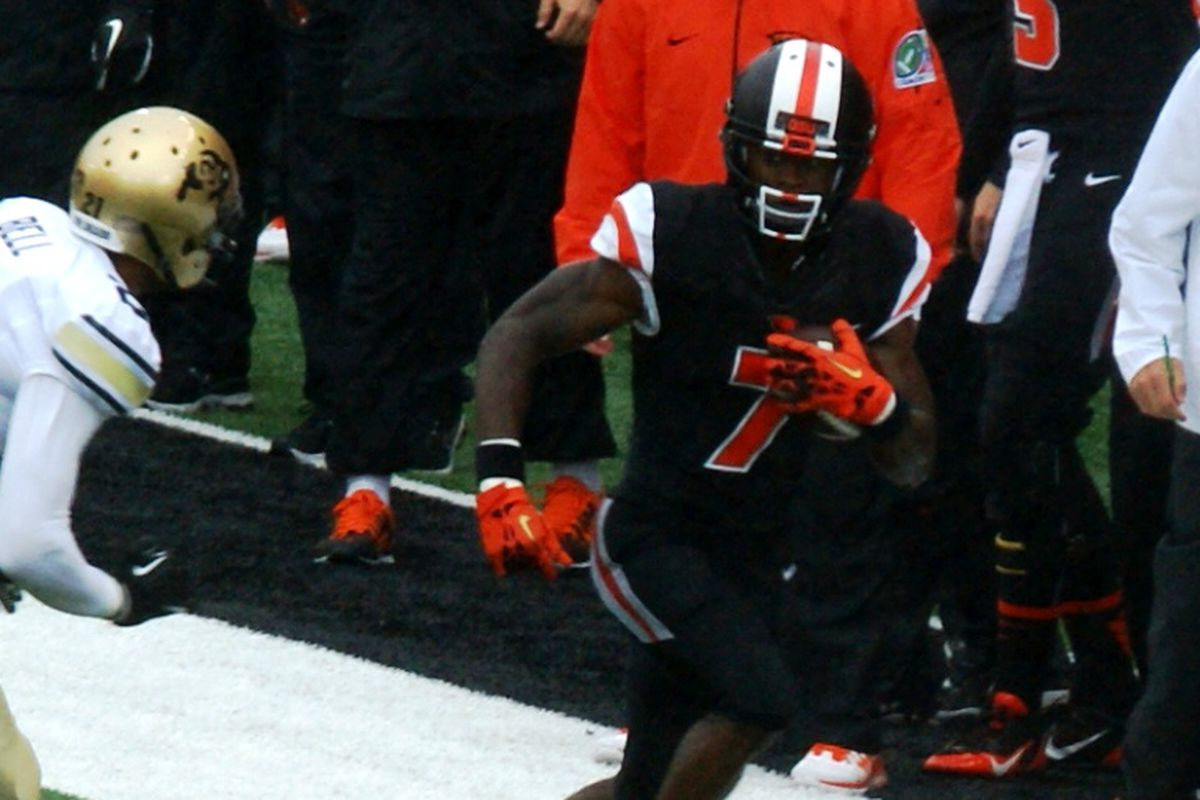 Oregon St.'s Brandin Cooks has been catching plenty of passes from Sean Mannion, sparking the Beavers so far this season.