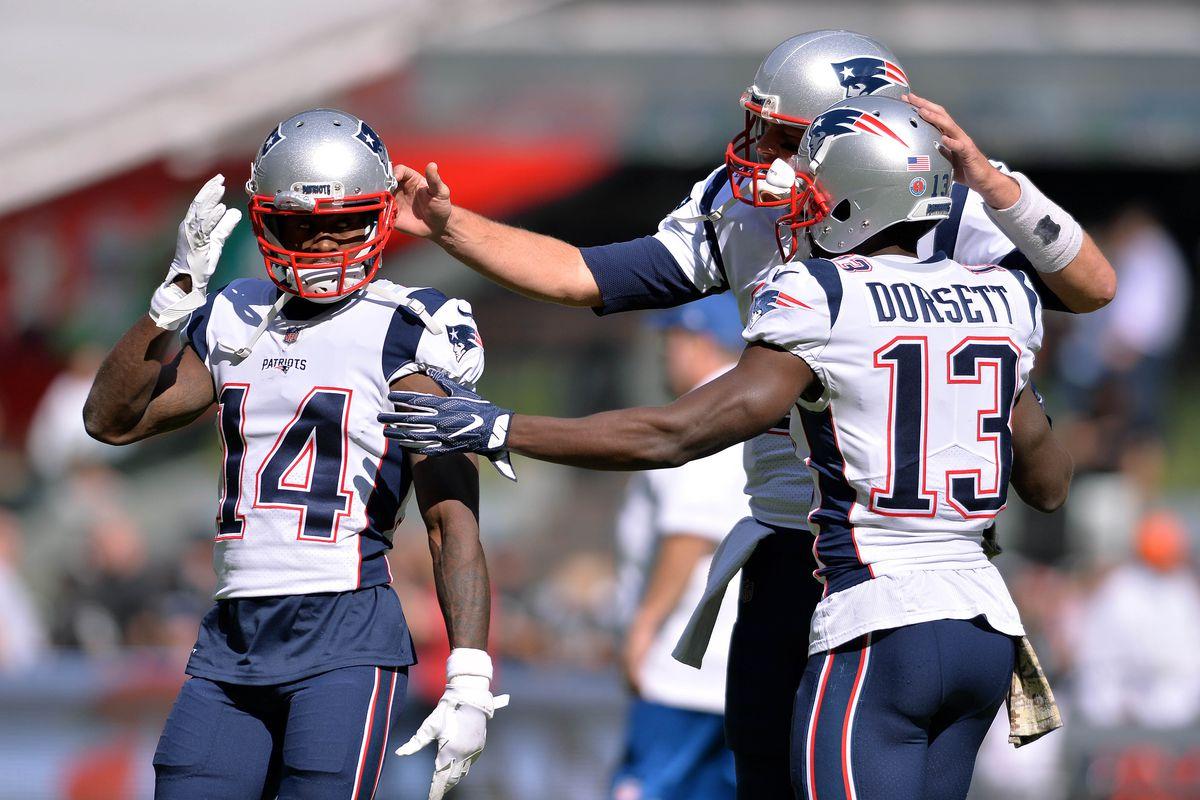 Risultati immagini per patriots wide receivers