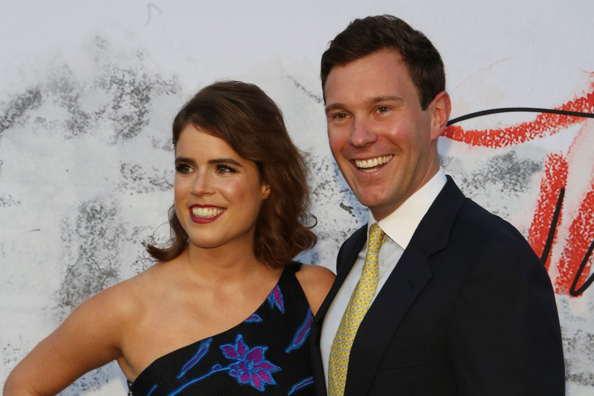 4c3ce6f3181 Princess Eugenie and fiancé Jack Brooksbank will wed on October 12 at St.  George s Chapel. Dave Benett Getty Images ...