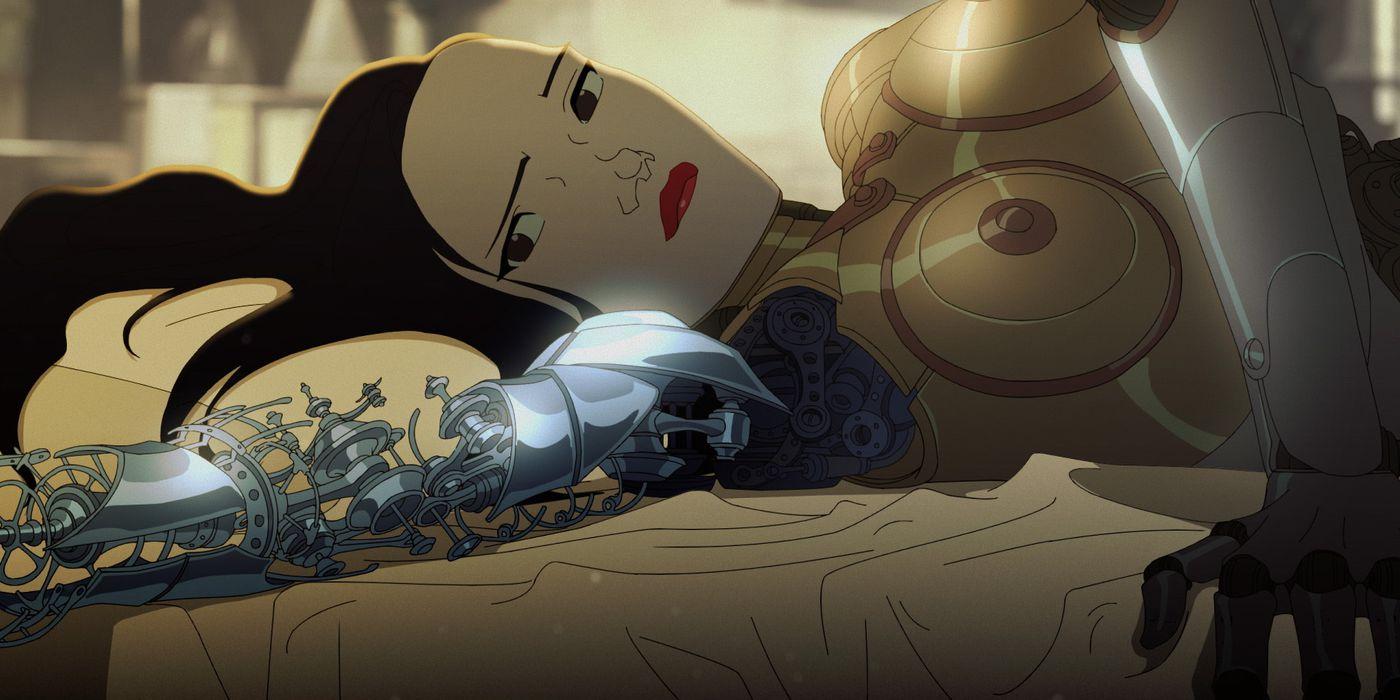Anime Torture Porn Gif netflix's love, death, and robots, broken downlove