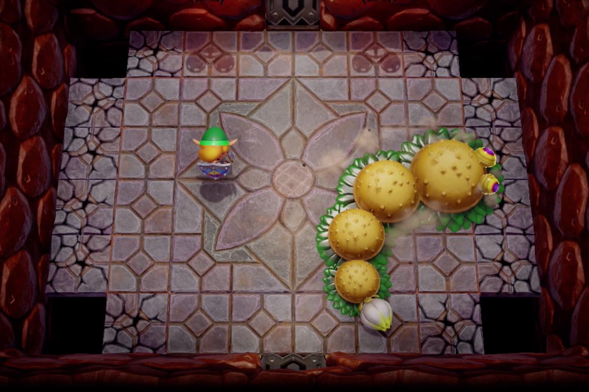 Link's Awakening Level 1 - Tail Cave walkthrough and maps