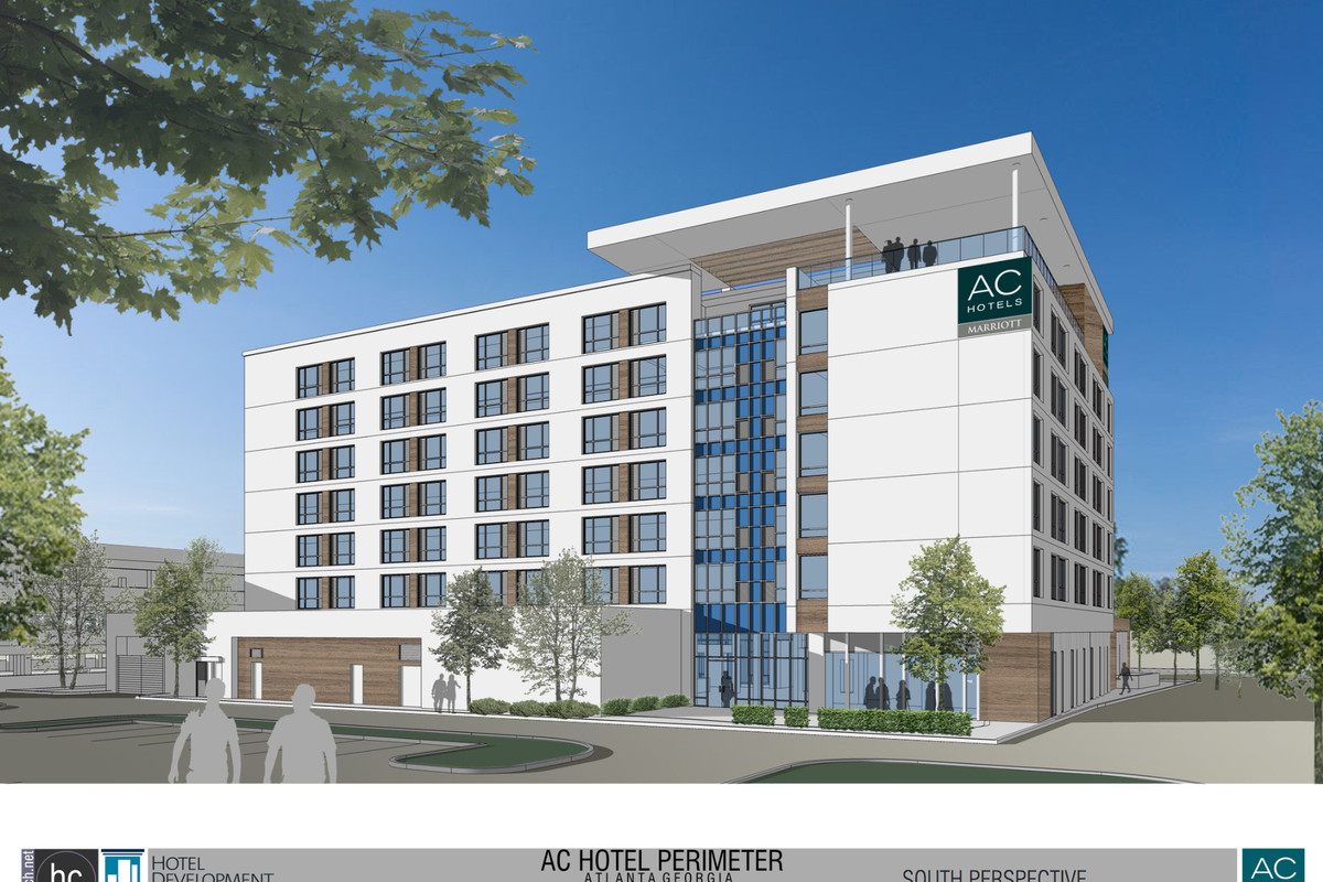 The New Ac Hotel Slated For Perimeter Hc Architecture Via Reporter Newspapers
