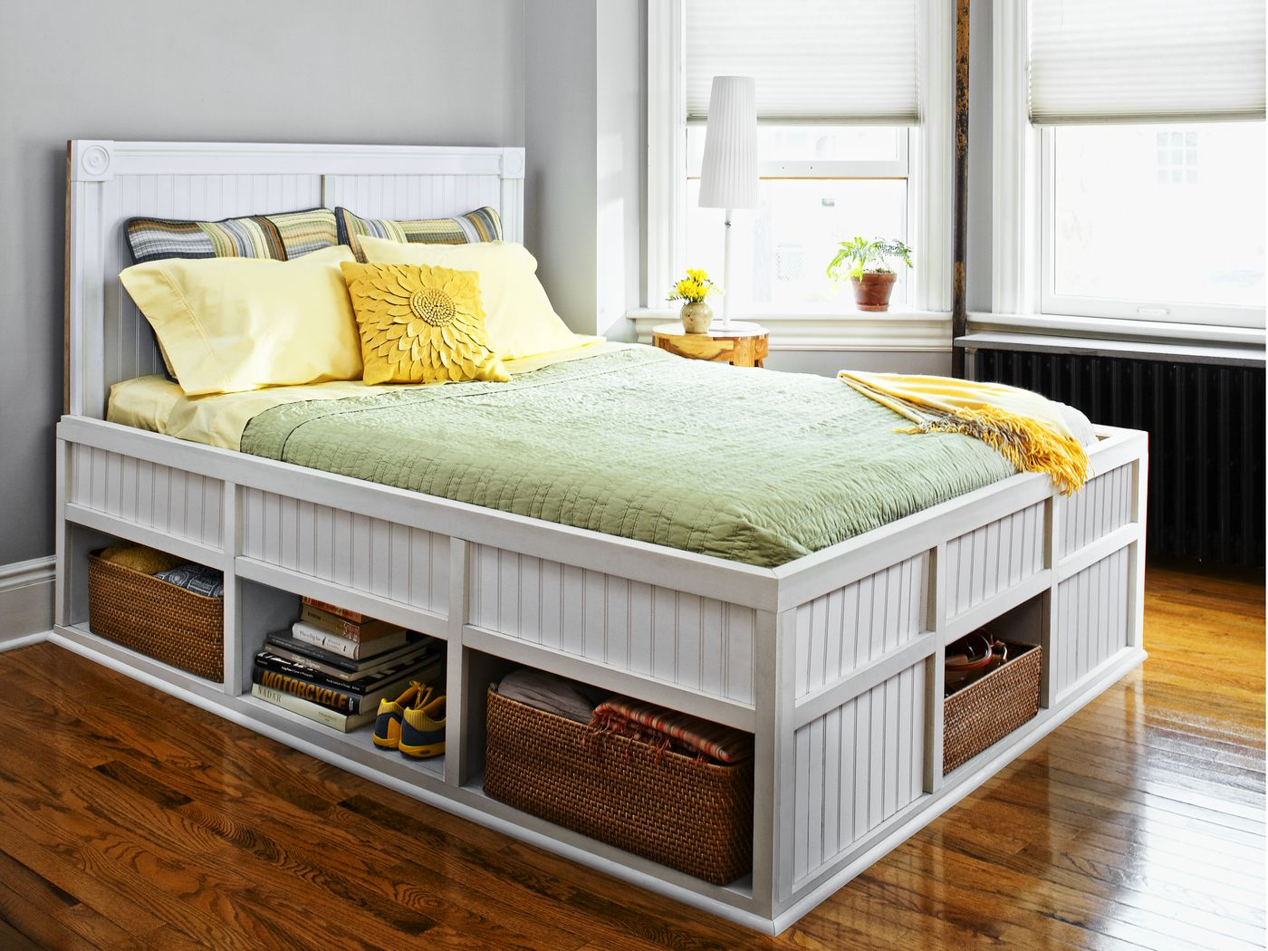 How To Build A Storage Bed This Old House