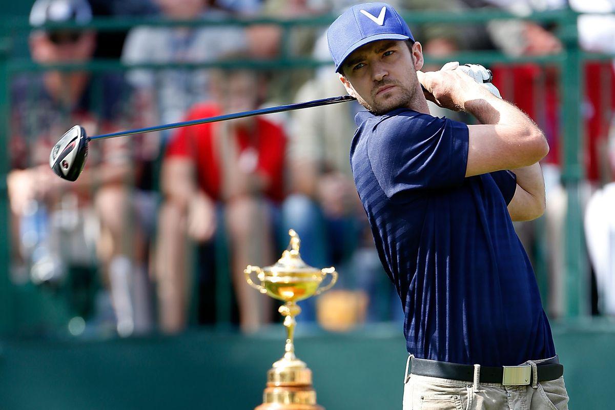0e53c420aec51 Justin Timberlake won t return for 2013 Las Vegas golf tournament ...