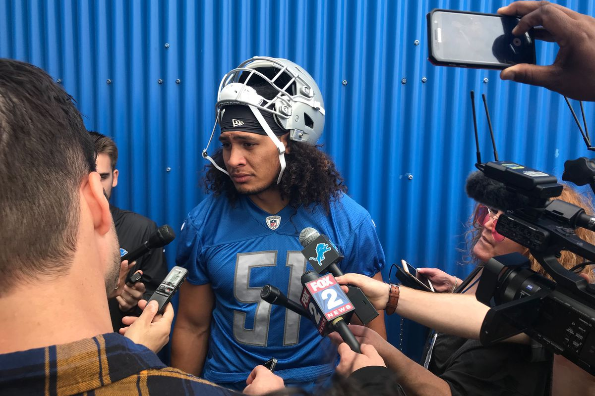 Detroit Lions 2nd-round pick Jahlani Tavai is taking things 'day by day'
