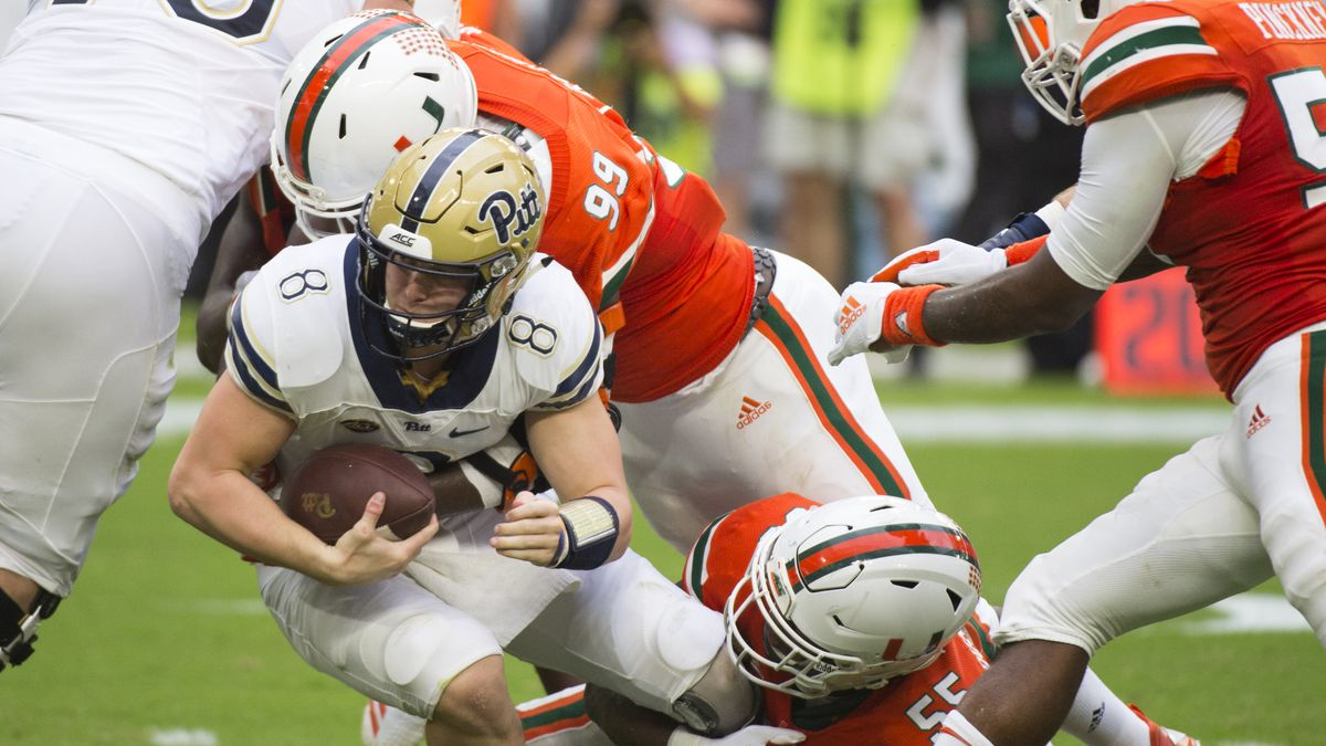 COLLEGE FOOTBALL: NOV 24 Pitt at Miami