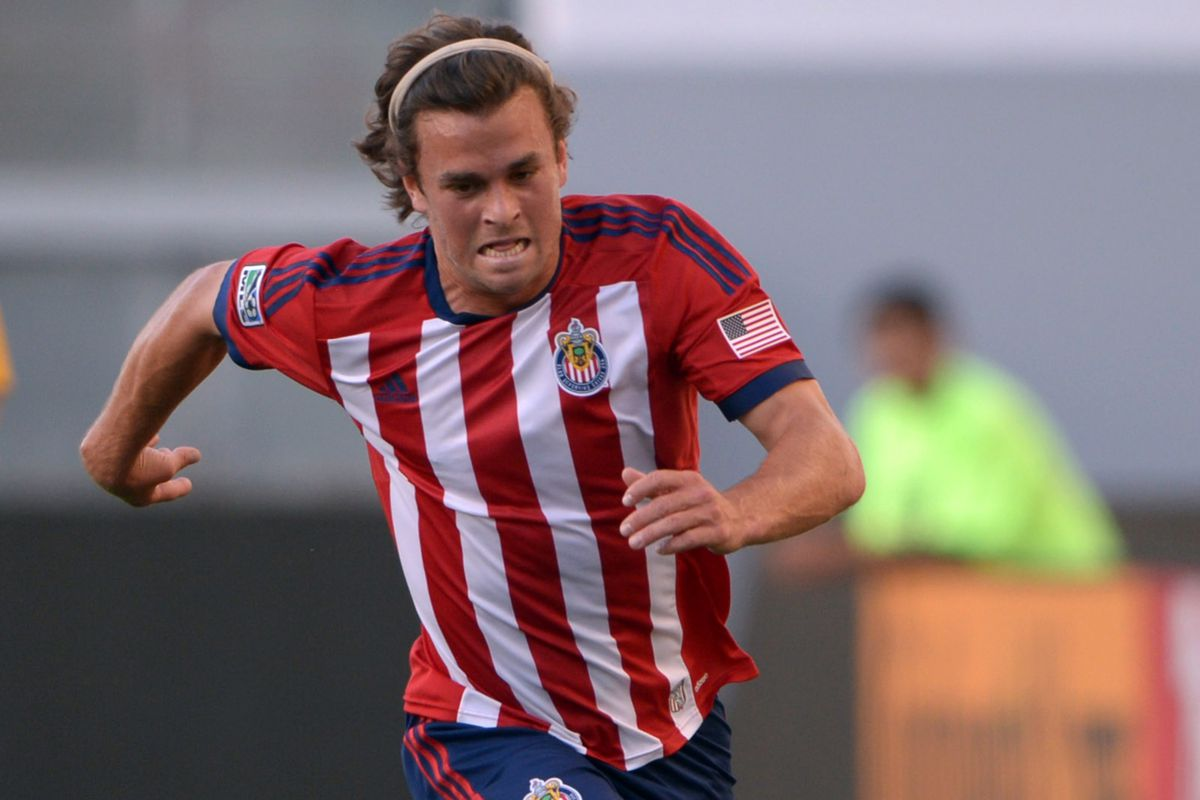 Fondy in his final game with Chivas USA.